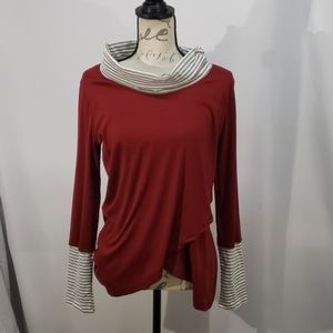 Leo Rosi Long Sleeved Top Size Small (A1)